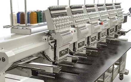 Embroidery machines: Best-selling Merlin four- and six-heads