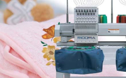 Embroidery machines: New Ricoma models