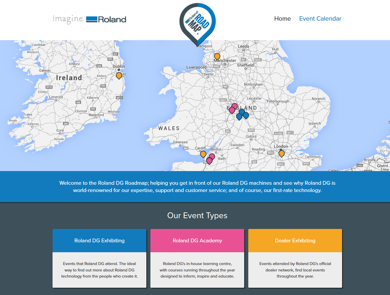 RolandDGRoadmap_homepage_screenshot