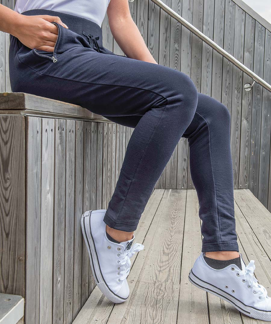 The Girlie Tapered Track Pant is tapered for a casual fit d9991cb68417