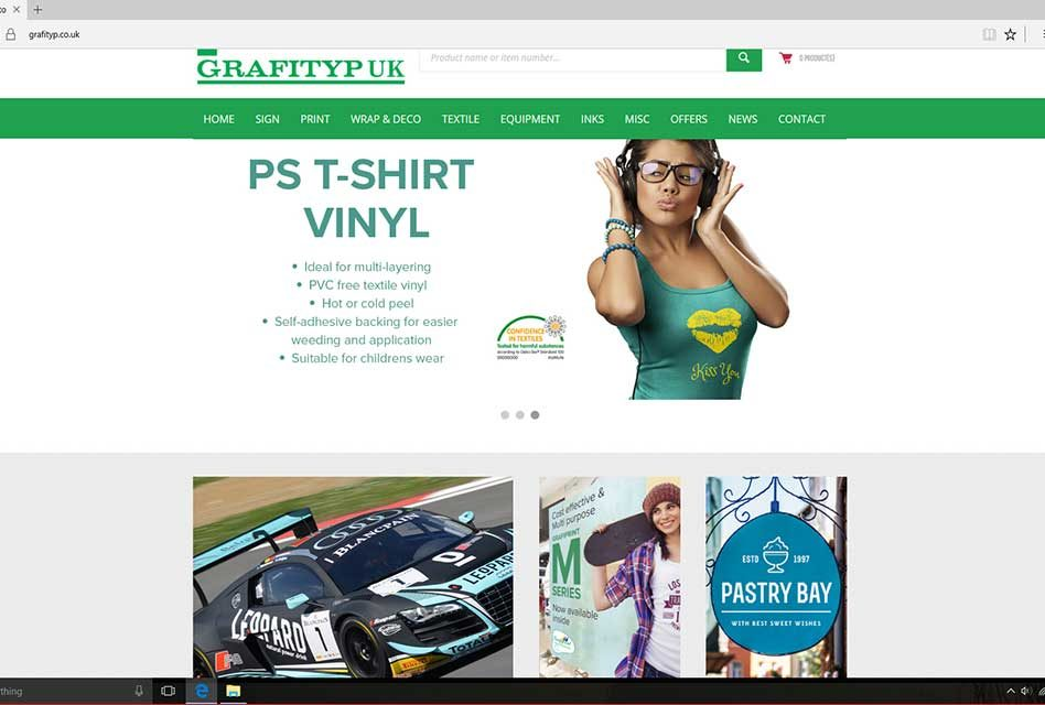 Grafityp UK announces new e-commerce website