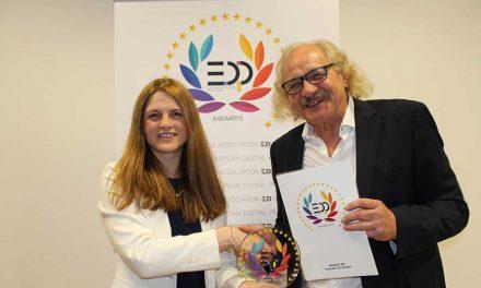 Roland DG's TrueVIS SG Series wins EDP award