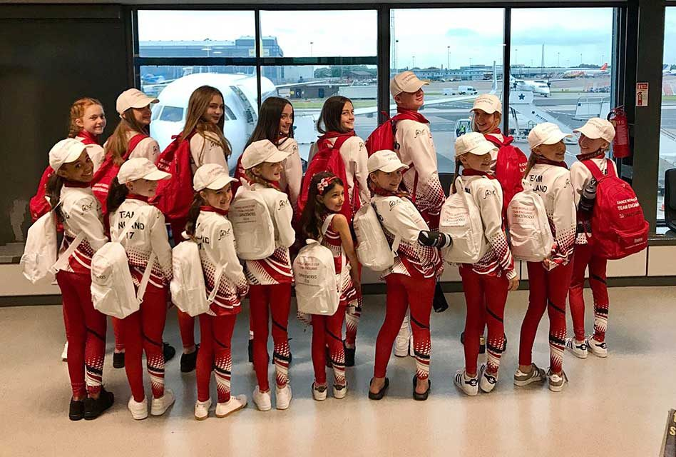 World Cup success for Beechfield-sponsored dancers