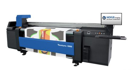 M&R launches high-speed Novus Textura 1800 printer