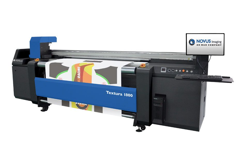 M&R launches high-speed Novus Textura 1800 printer