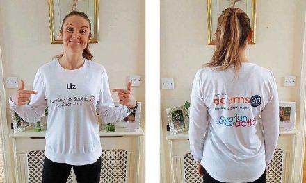 Dave Roper sponsors London Marathon runner