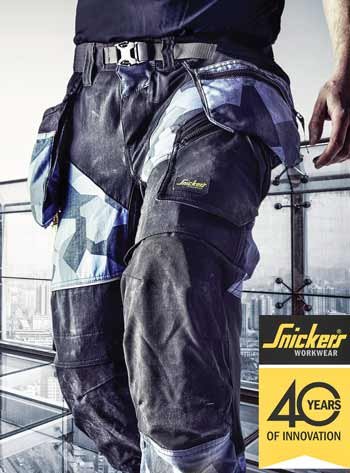 The new Flexi work trousers from Snickers