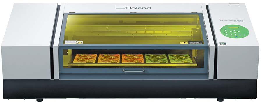Roland DG's new VersaUV LEF-300 printer