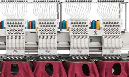 Embroidery machines: Three new Tajima models