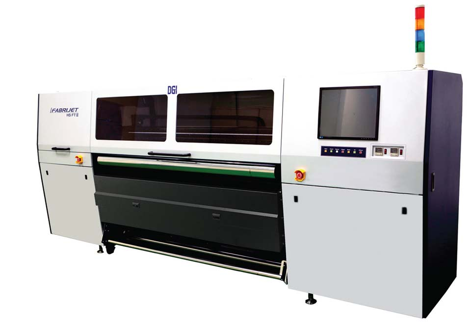 The DGI HSFT II industrial sublimation printer