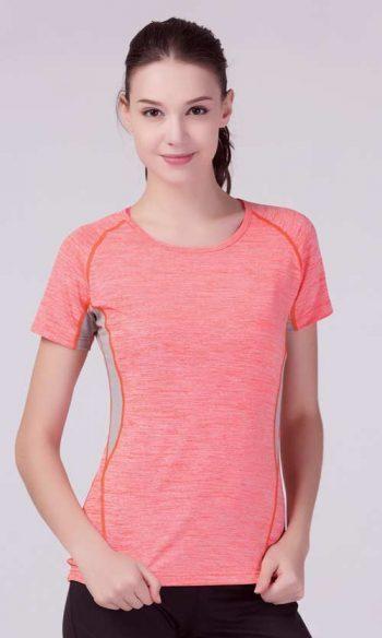 Spiro's Women's Tech Panel Marl T-Shirt (S270F)