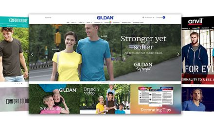 Anvil and Gildan launch new websites