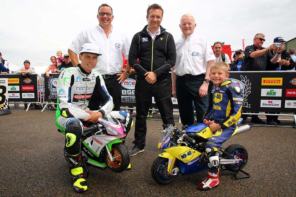 Dickies kits out British Superbike heroes of tomorrow