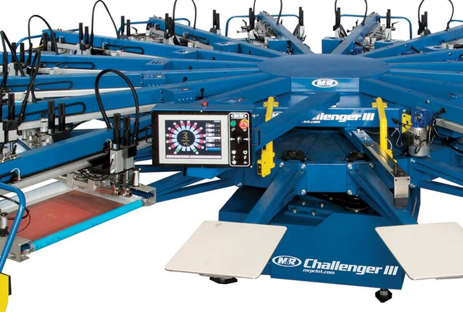 Talking screen printing presses with Peter Walsh