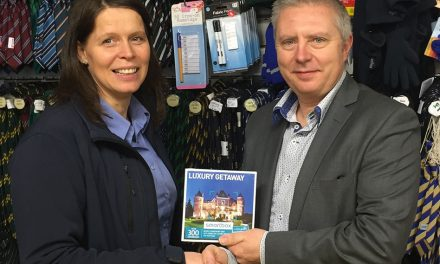Promotion & Branding Show names 2016 Prize Draw winner
