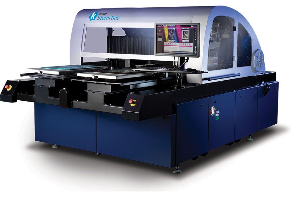 Kornit debuts Storm Duo at Fespa