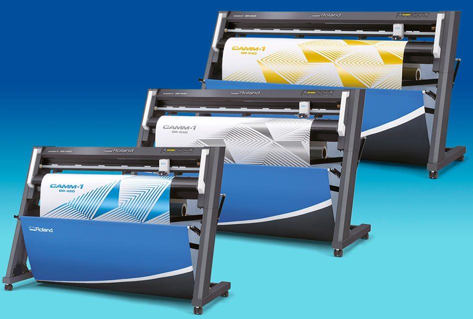 Roland DG introduces new CAMM-1 vinyl cutters