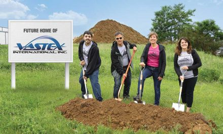 Vastex breaks ground on new HQ