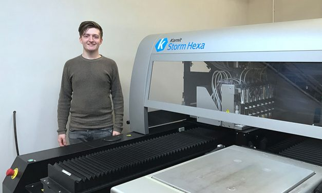Inkthreadable expansion sees installation of first Kornit DTG printer