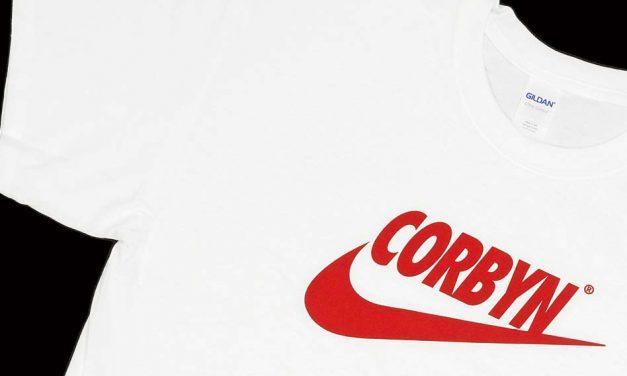 Bootleg Corbyn T-shirt designed by Bristol Street Wear
