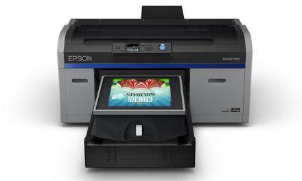 Epson announces next-gen SureColor F2100 DTG printer