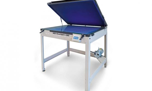 Starlight ASO UV LED Screen Exposure System from The M&R Companies