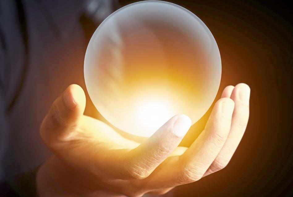 Crystal ball gazing
