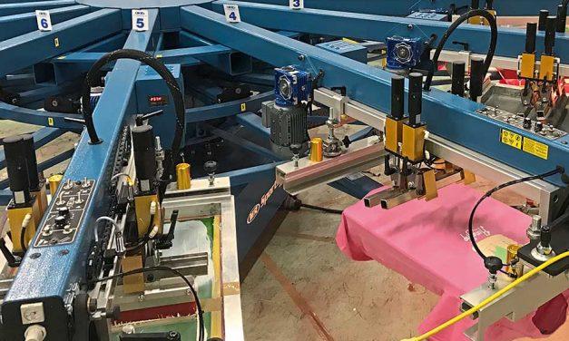 Telling it like it is: screen printing presses