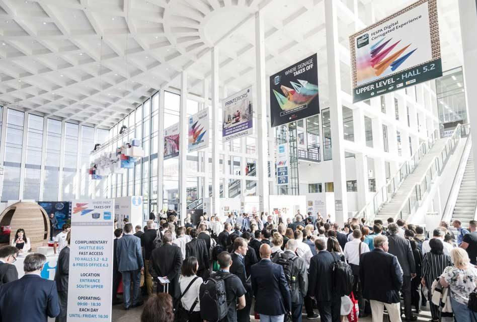 Textiles figure large at Fespa Global Print Expo 2018