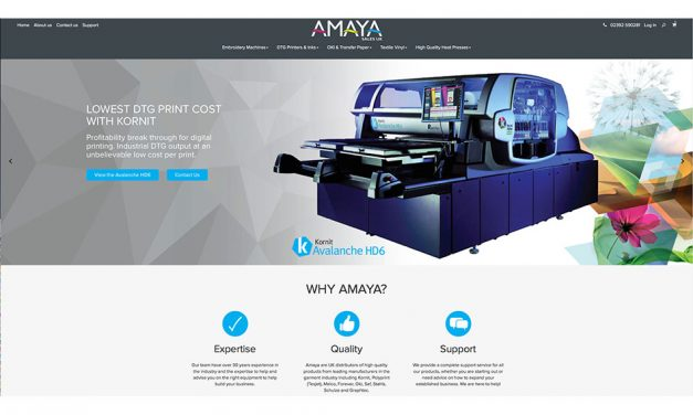 Amaya Sales UK launches new website