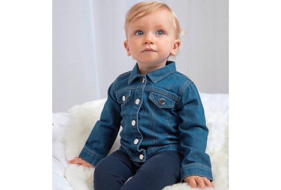 Baby Rocks Denim Jacket from Babybugz
