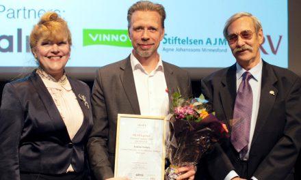 Joakim Staberg of Coloreel wins innovation award