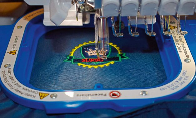 Telling it like it is: Embroidery equipment
