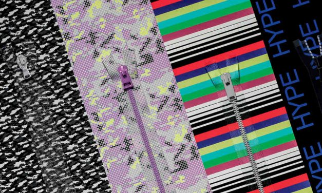 YKK unveils personalised printed zipper