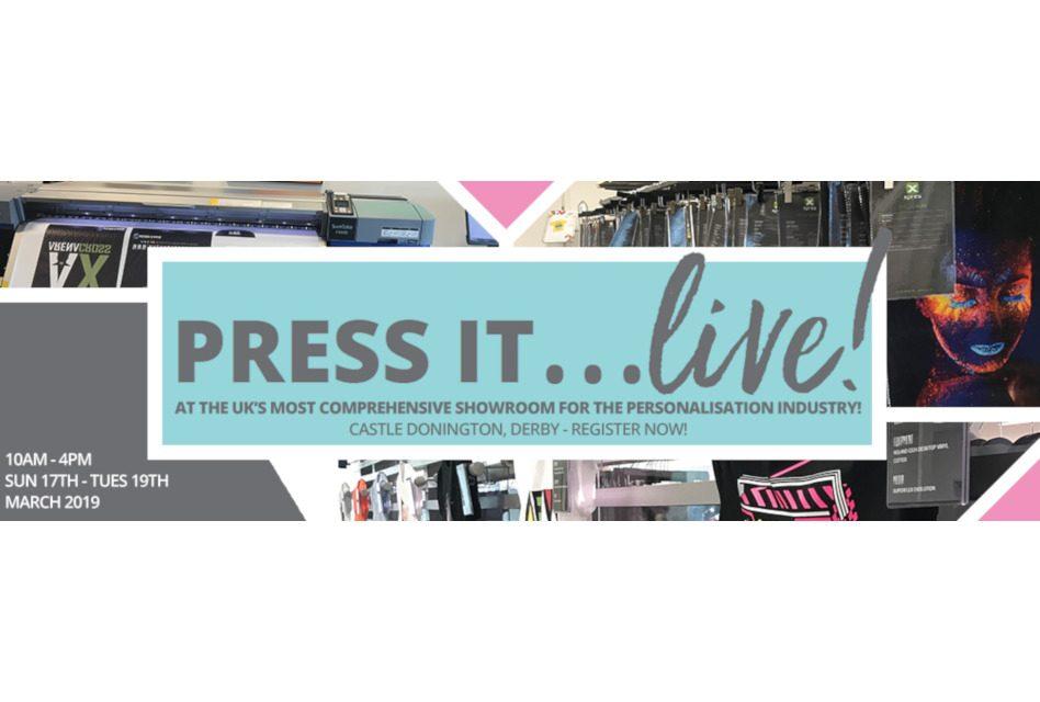 Xpres announces Press It…Live! event