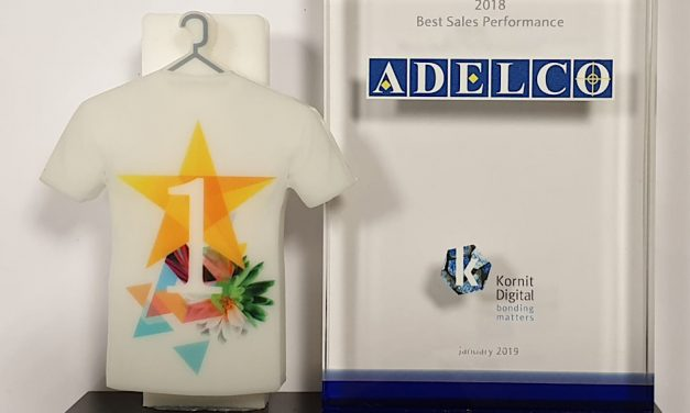 Kornit presents Adelco with Best Sales Performance Award