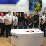 Birmingham City Uni students design floral polos for Epson staff