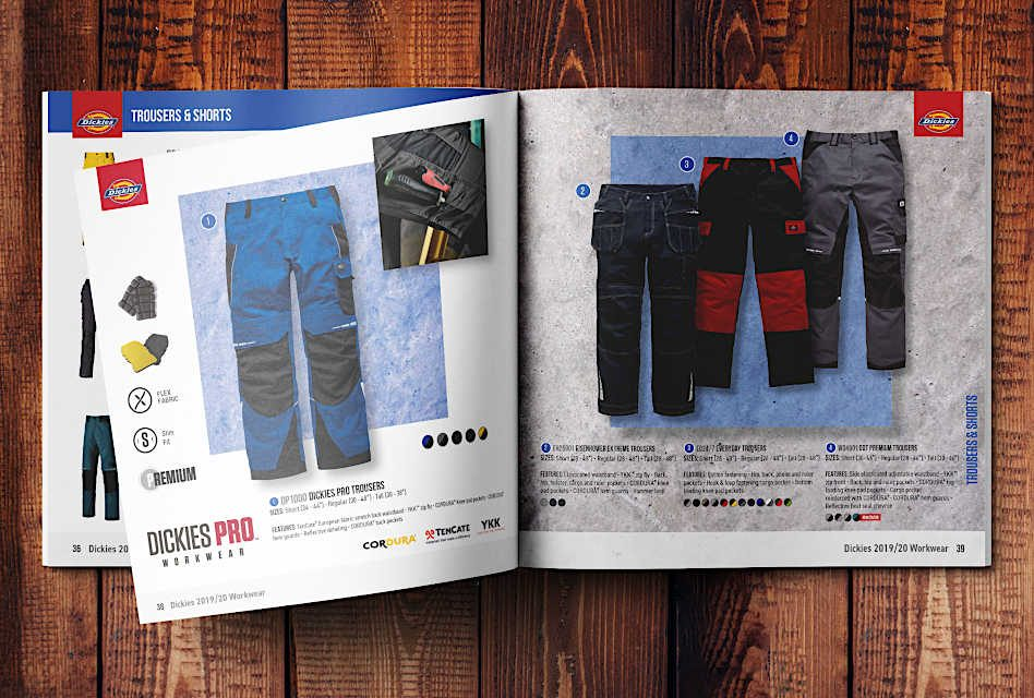 Dickies unveils its largest ever catalogue
