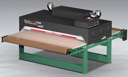 Vastex introduces infrared conveyor dryer with two metre wide conveyor belt