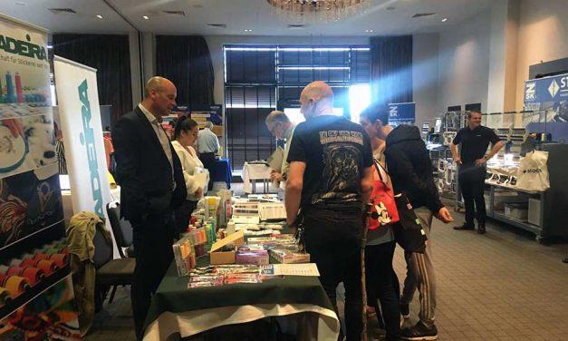 More than 100 people visit Print & Stitch Leeds