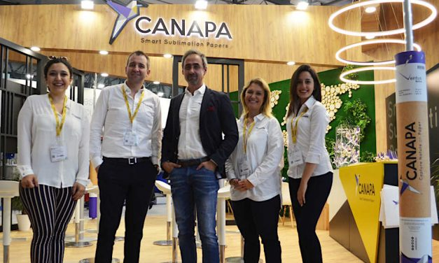 """Canapa exhibits """"smart sublimation papers"""" at Itma"""
