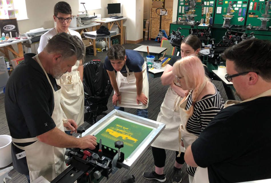 Dalesway Print Technology adds extra dates for screen printing workshops