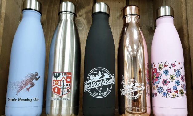Cut out single-use plastic: transfer to personalised vacuum bottles