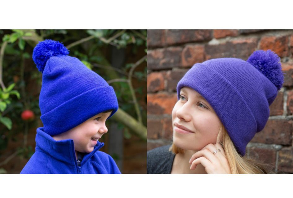 Result Headwear launches Adult and Junior Pompom Beanies