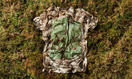 Vollebak creates 100% biodegradable T-shirt made from plants and algae