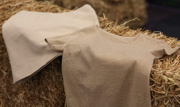 "Fortum and Spinnova introduce ""world's first"" wheat straw-based clothing"