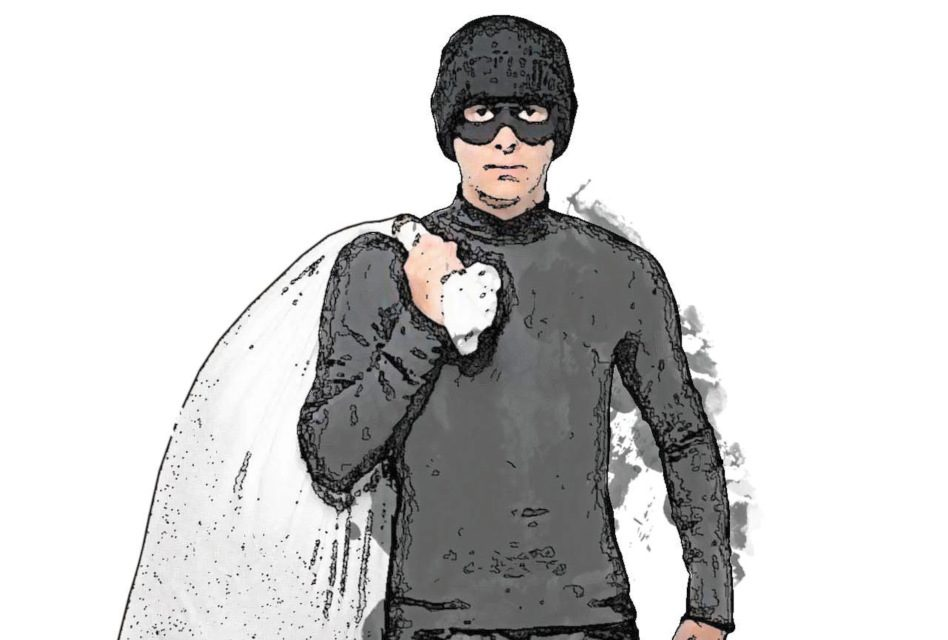 Watch out, there's a burglar about