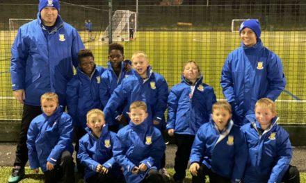 Result donates kit to kid's football team