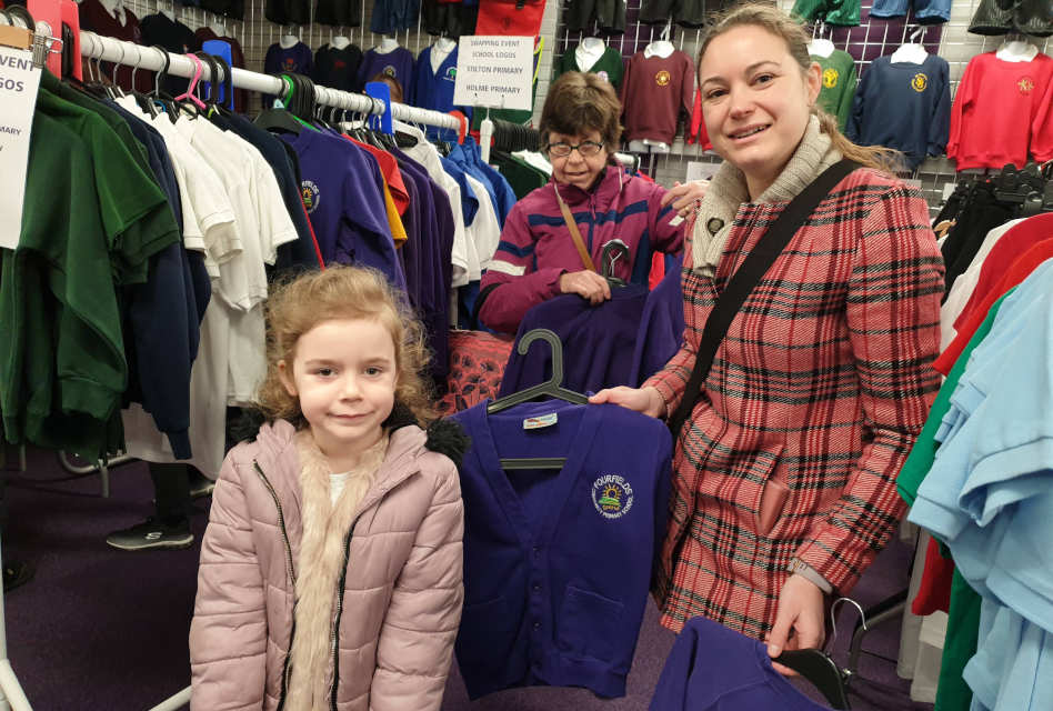 Total Clothing holds schoolwear swap shop